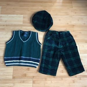 Children's Place baby holiday outfit